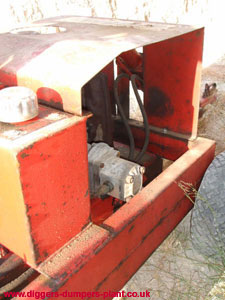 Gopher hydraulic pump
