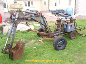 Unknown towable digger